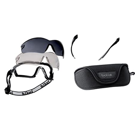 Bolle KITCOBRA Cobra Safety Glasses and Goggle Kit  Amazon.co.uk  DIY    Tools 73d0557f4471