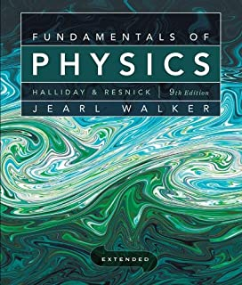 Fundamentals of physics, volume 1 by david halliday.