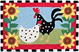 Jellybean Area Accent Rug Funky Chickens Review