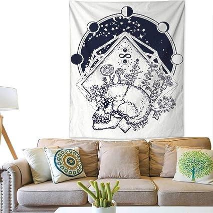 Amazon com: BlountDecor Gorgeous Tapestry Human Skull Through which