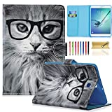 Galaxy Tab S2 8.0 Case,Dteck Lightweight Protective Slim Shell Stand Cover with Auto Sleep/Wake Feature for Samsung Galaxy Tab S2/S2 Nook 8.0 Inch Tablet 2015(SM-T710 T715 T713 T719),Fashion Cat