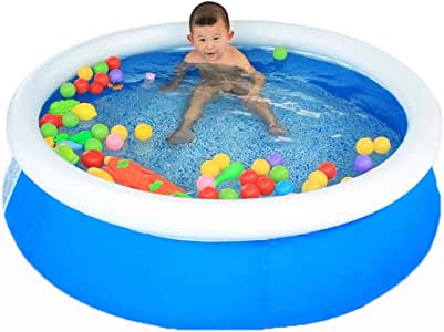 Piscina Inflable PVC Piscina Inflable Redonda Piscina al Aire ...