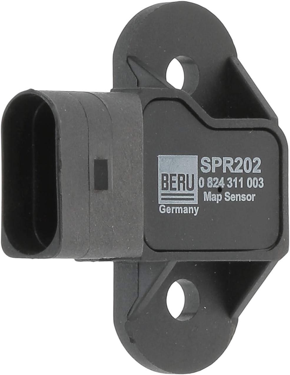 Beru 824311003 Sensor Saugrohrdruck Auto