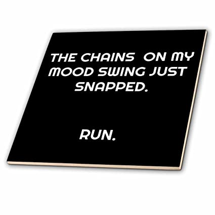 Amazoncom 3drose Xander Funny Quotes The Chains On My Mood Swing
