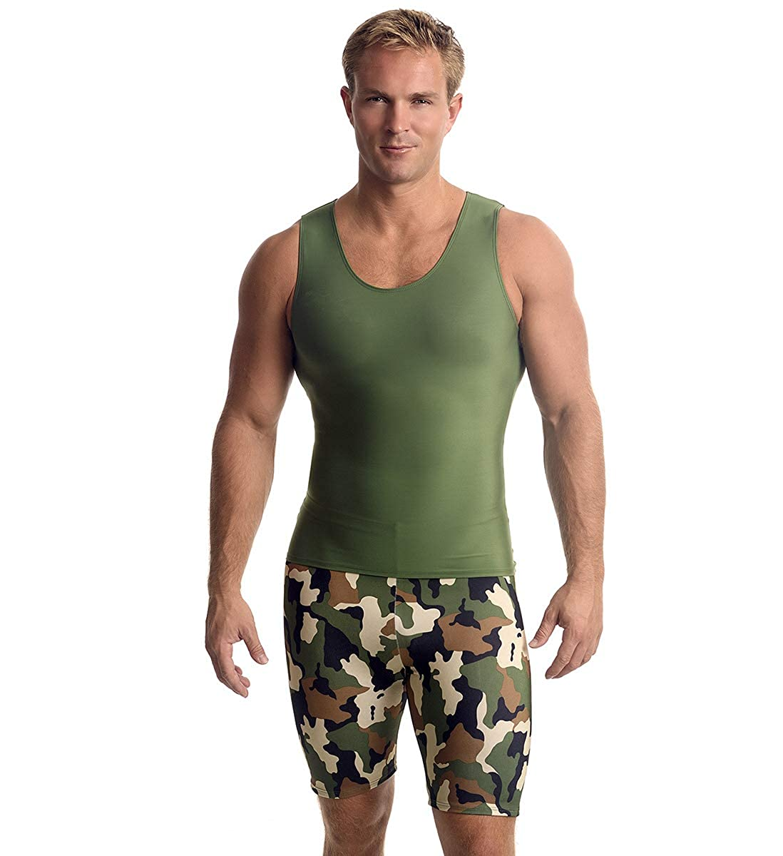 Insta Slim ISPRO Slimming Muscle Tank Top Shapewear Compression Shirt for Men