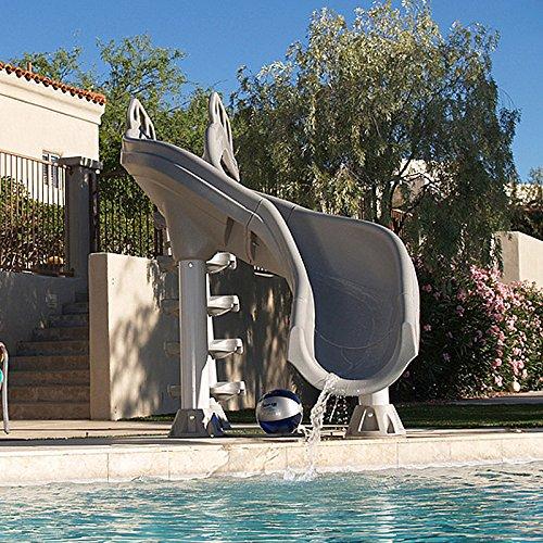 Inter-Fab XS-TA-SS X-Stream 2 Water Pool Slide, Tan -