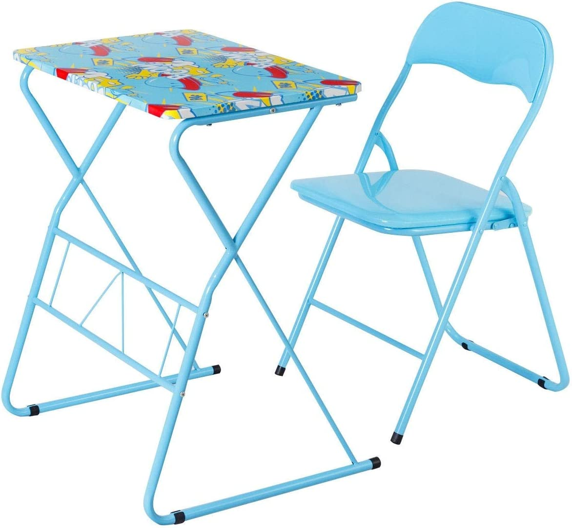 - Amazon.com: King77777 Home School Kids Study Writing Folding Table