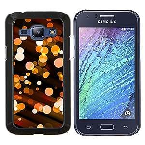 "Be-Star Único Patrón Plástico Duro Fundas Cover Cubre Hard Case Cover Para Samsung Galaxy J1 / J100 ( Bling bola de discoteca luces City Night Street"" )"