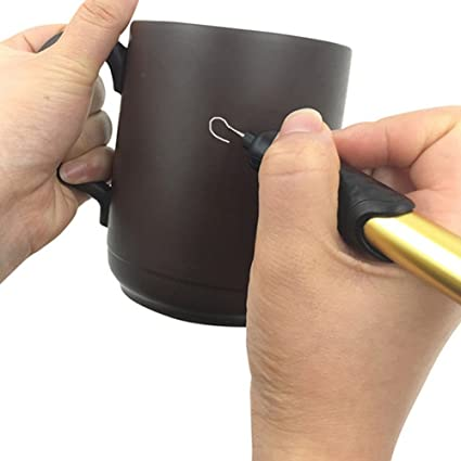 Grabador electrico para pirograbado personalizaciones cristal plastico metal madera objetos de valor dorado de OPEN BUY