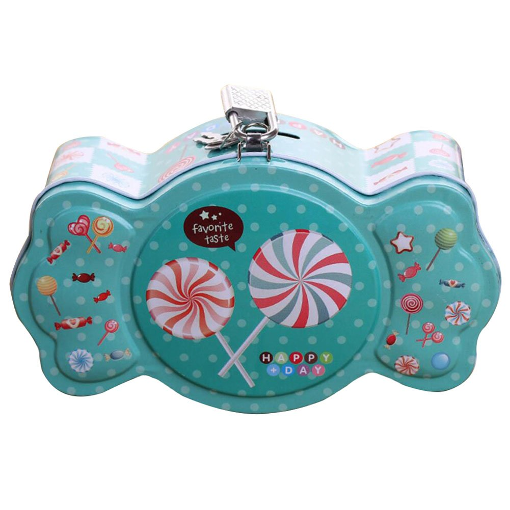 George Jimmy Coin Holder Coin Collecting Coin Purse Money Bag Cash Box Gift for Kids Candy