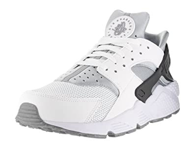 online store 7ac09 467dc Image Unavailable. Image not available for. Color  NIKE Men s Air Huarache,  White White-Wolf Grey-Dark ...