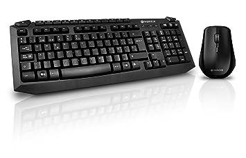 Woxter TE26-026 - Pack de teclado y ratón inalámbrico