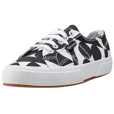 Superga X Patternity 2750 Fancotu Damen 3 Sneakers Weiß schwarz 3 Damen UK ... 83ec12