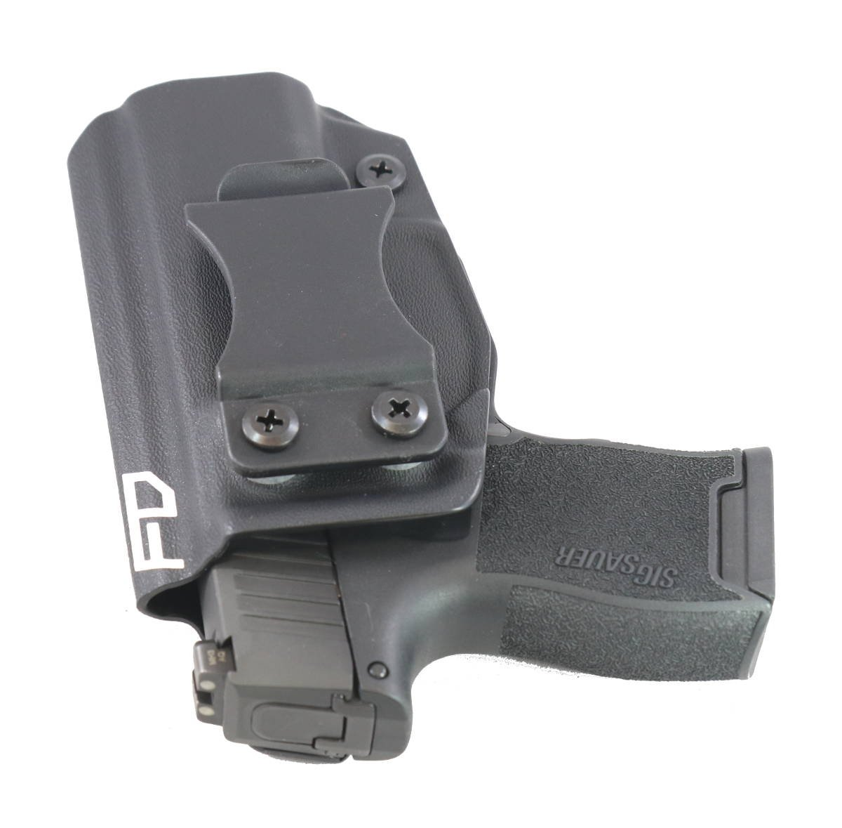 Amazon.com : Fierce Defender IWB Kydex Holster Sig P365 Winter Warrior Series -MADE IN USA- (Black) : Sports & Outdoors