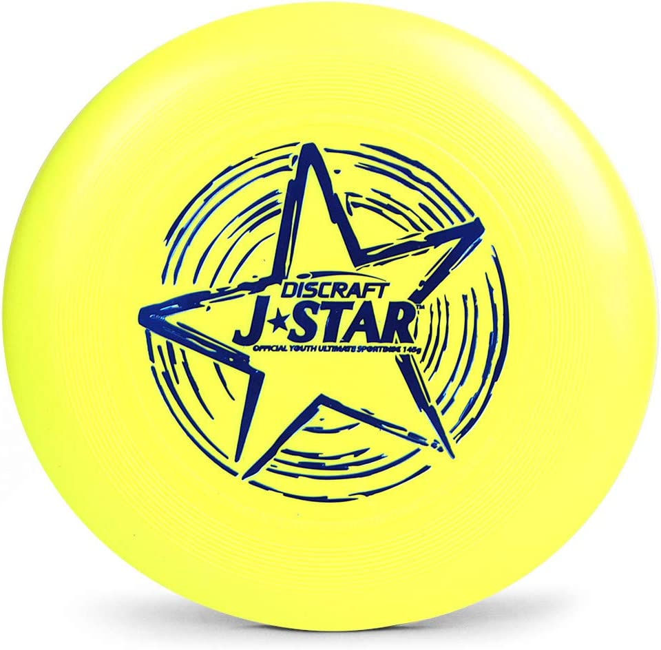 Yellow Discraft J-Star 145 g Youth Ultimate Disc