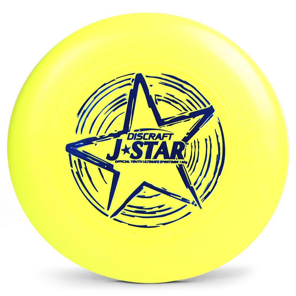 Discraft J-Star 145 g ユース アルティメットディスク(イエロー)