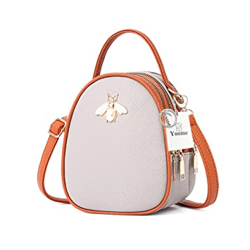 Damentaschen New Ladies Faux Leather Multi Pocket Spacious Adjustable Shoulder Bag