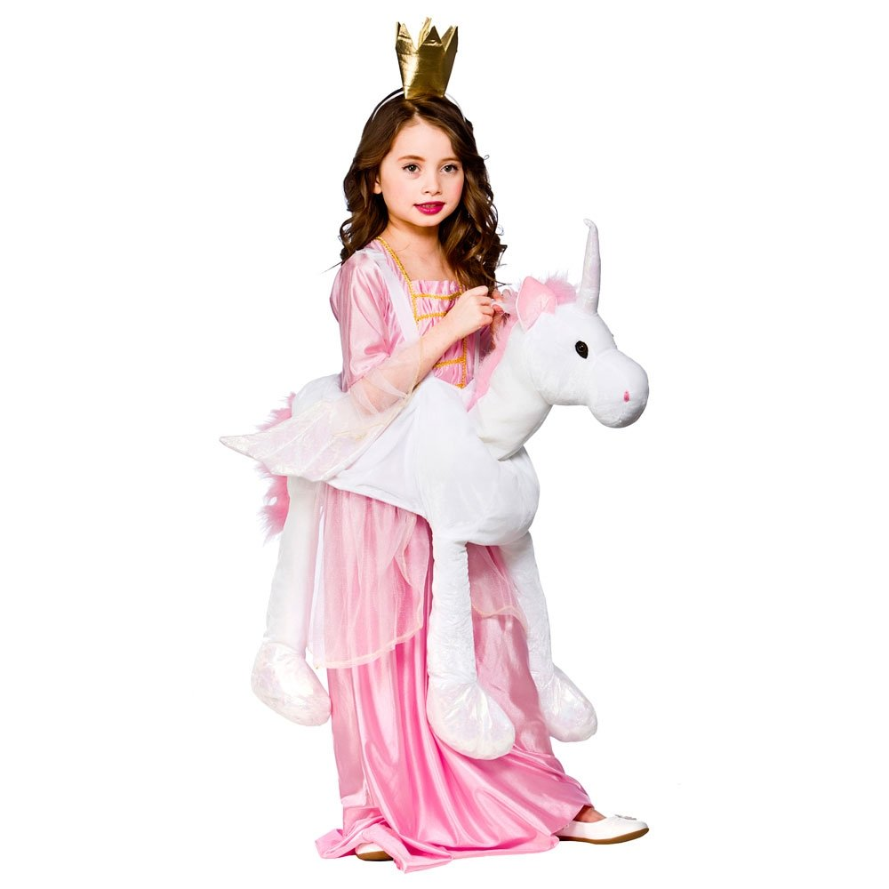 One Size Boys or Girls Ride on Unicorn Costume Outfit for Animals Creatures Fancy Dress  sc 1 st  Amazon UK & Unicorn Costumes for Kids: Amazon.co.uk