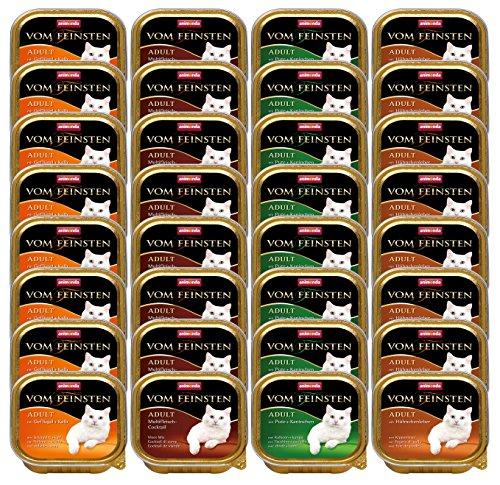 Animonda vom Feinsten 83254 Mix1 Geflügel-Kreationen 32 x 100 g - Katzenfutter