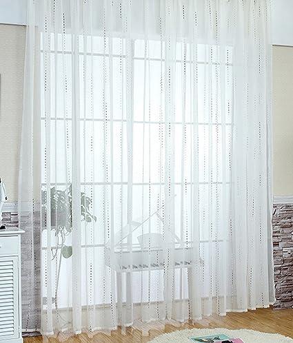 ASIDE BSide - Cortinas de lino bordadas con paneles para ventanas, cortinas, cortinas,