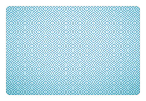 Retro Aqua Squares - 7