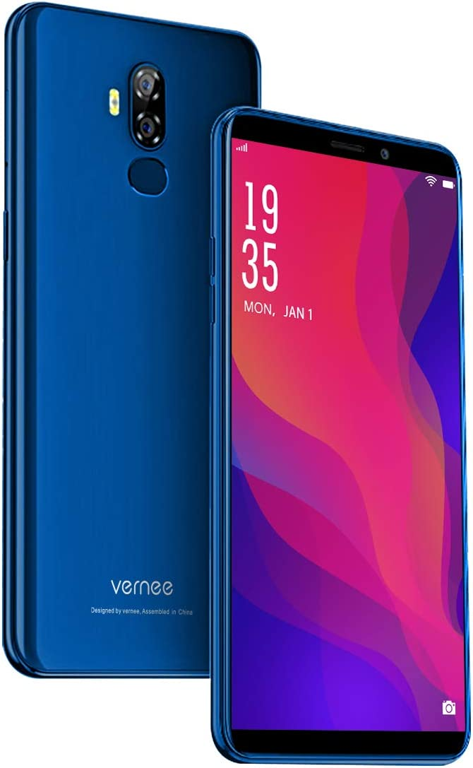 Vernee X2 Móvil Libre 4G, 6350mAh Batería, Android 9.0, 6