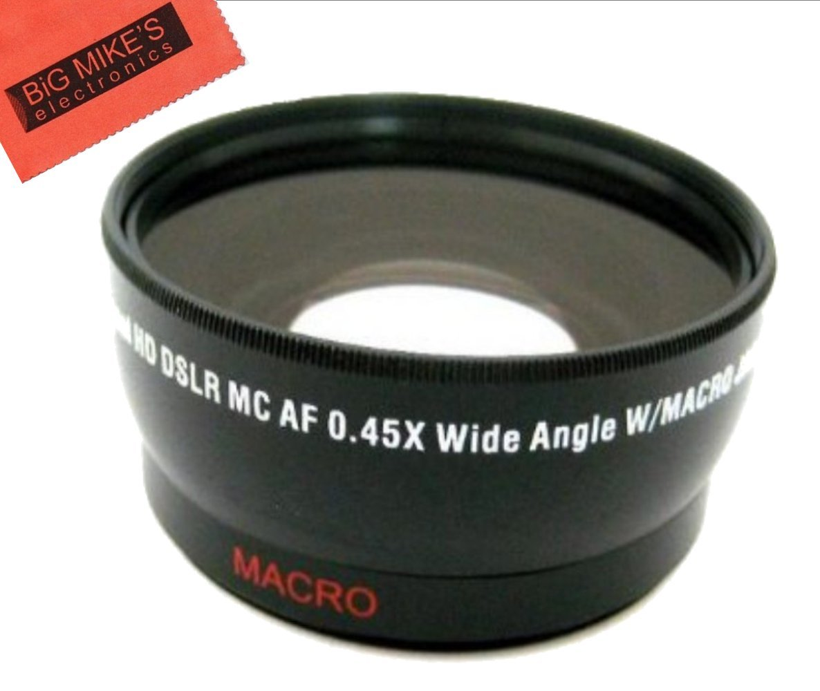 49mm 043x Wide Angle Lens With Macro For Panasonic Hc Vx985 4k Ultra Hd Camcorder Wxf991k Vx981k X900 M X920k Camera Photo