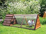 Omlet Clear Cover for Chicken Run - 1.5m x 0.9m (810.0111)