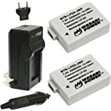 Wasabi Power Battery 2-Pack and Charger for Canon LP-E8 and Canon EOS 550D EOS 600D EOS Rebel T2i EOS Rebel T3i EOS Rebel T4i