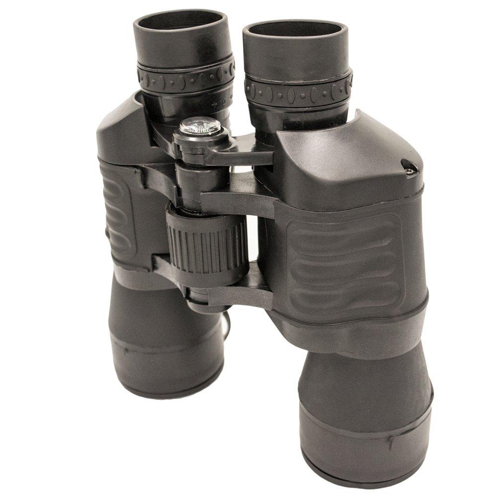 (トゥクテック) TukTek 30×50 タクティカル双眼鏡 携帯バッグレンズカバー付き ブラック B072Q5JVH9