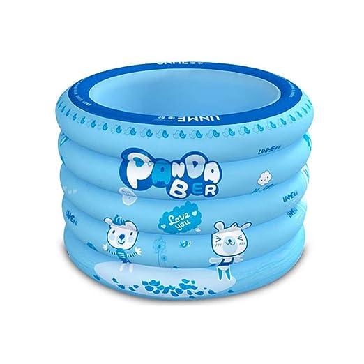 Childrens Bathtub Bañera hinchable para bebés, portátil, plegable ...