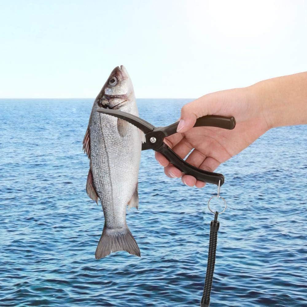 Grip Fishing Gear Liyeehao Accesorios de Pesca de Mano Grip Fishing Tool Alicates de Pesca Kayak Pesca para Agua Salada Pesca en Agua Dulce