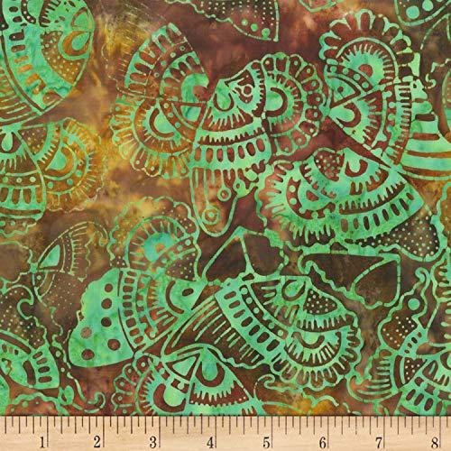 Anthology Batiks Anthology Art Inspired Batik Nighthawks Tribal Butterfly Twist, Fabric by the Yard