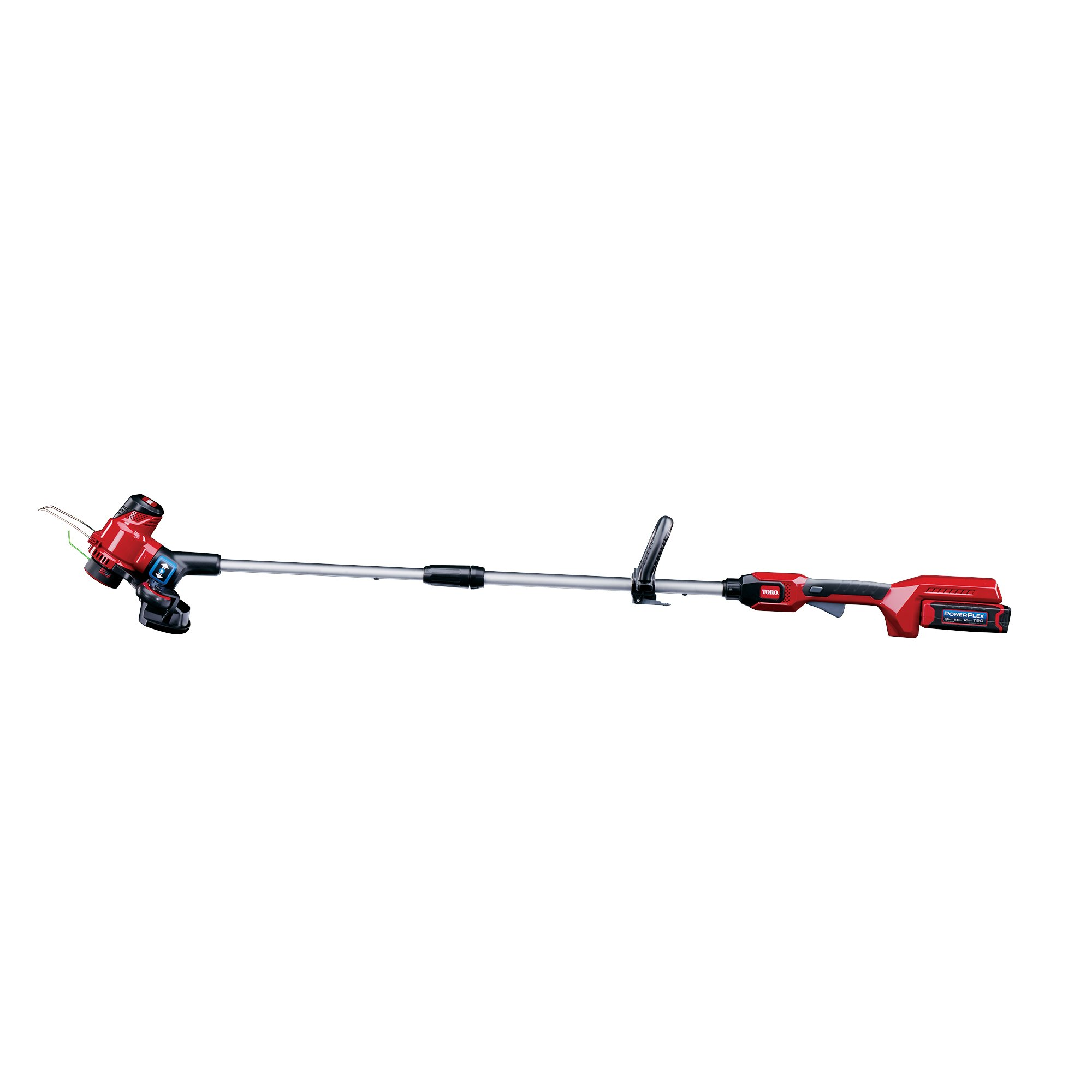 Toro PowerPlex 51481 40V MAX Lithium Ion 13'' Cordless String Trimmer/Edger, 2.5 Ah Battery & Charger Included