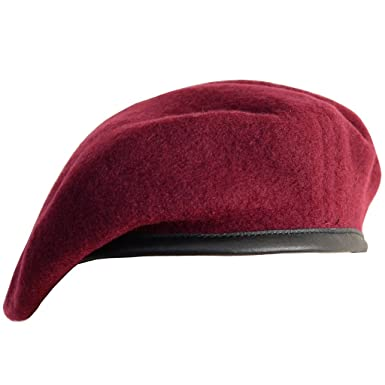 d267b40d96265b High Quality Military Berets - British Made - 100% Wool in All Unit  Colours: Amazon.co.uk: Clothing