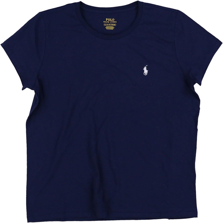 Polo Ralph Lauren Womens Crewneck Pony Logo Tee: Amazon.es: Ropa y accesorios
