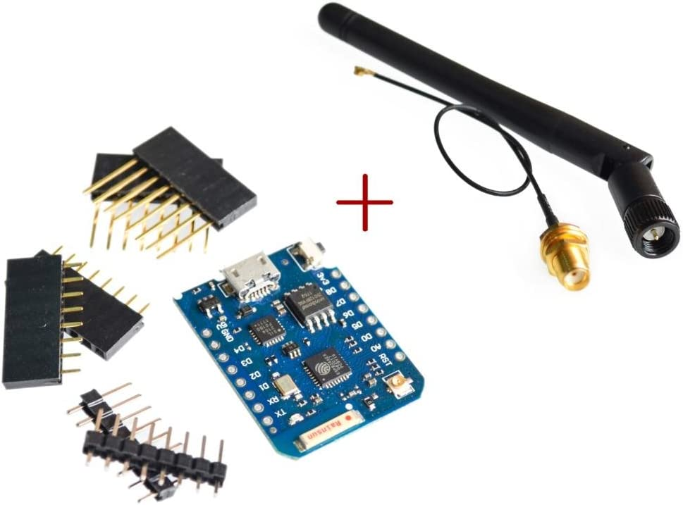 D1 Mini Pro-16 Bytes ESP8266 Series WiFi Wireless Antenna WeMos Connector US