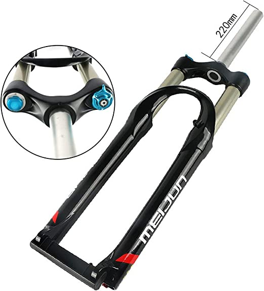 Horquilla neumática suspensión Bicicleta de montaña, Horquilla MTB ...