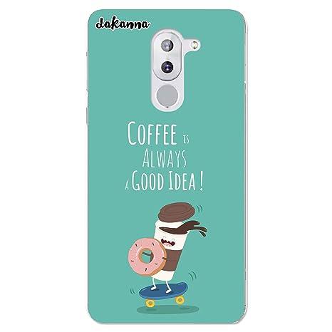 dakanna Funda para Honor 6X | Comida Café y Donut en ...