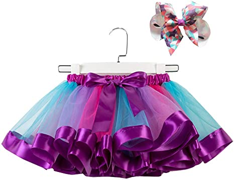 🍎 Niños disfraz de Princesa cosplay falda | Niñas Arco iris ...