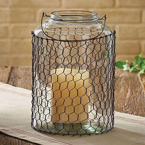 Park Designs Chicken Wire & Glass Jar - Large