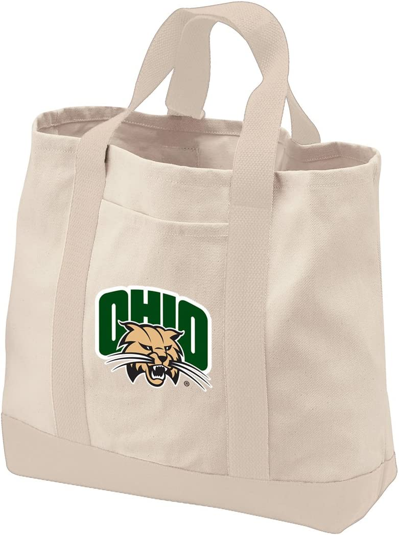 Ohio University Tote Bags Natural Canvas Ohio University Tote Bag