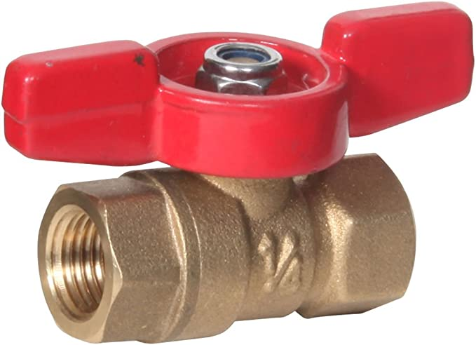 Midwest Control FBB-75 600 PSI CWP 3//4 FPT Brass Ball Valve Midwest-Control