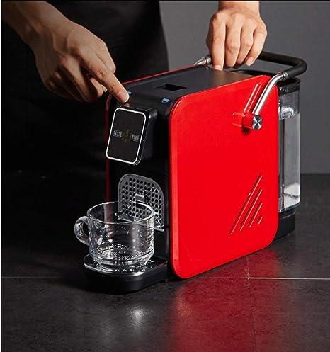 Cafetera italiana de cápsulas automática para el hogar pequeña máquina de café oficina hotel comercial: Amazon.es: Hogar