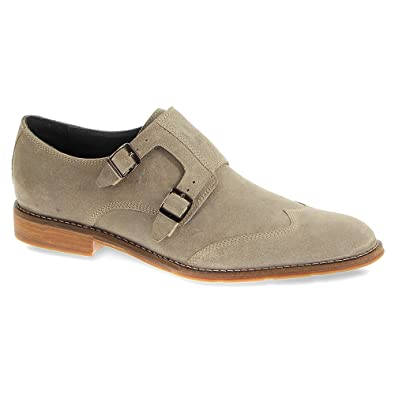 7d1283a685e Hush Puppies Men s Style Monk Strap (11.5 M in Taupe Suede)