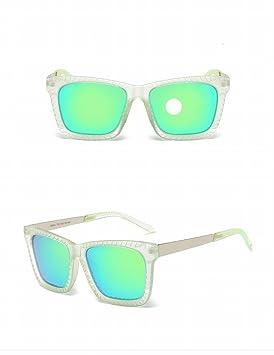 Gafas de Sol Cara-Levantar Gafas de Sol Polarizadas Moda Unisex Gafas de Sol Anti