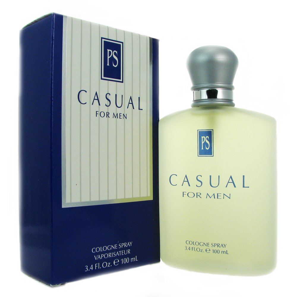 Casual for Men by Paul Sebastian, Cologne Spray, 3.4-Ounce