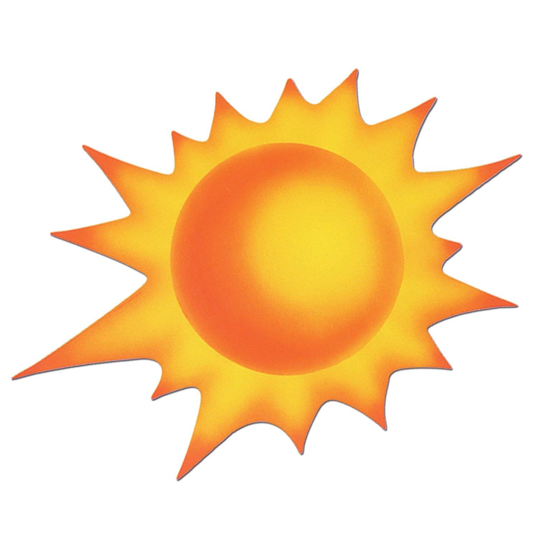 Beistle 55241 Sun Cutout, 24-Inch, 12-Pack