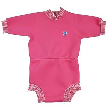 Splash About Happy Nappy - Traje de neopreno para niños, color Rosa (Caramelo), talla 24+ meses/XXL