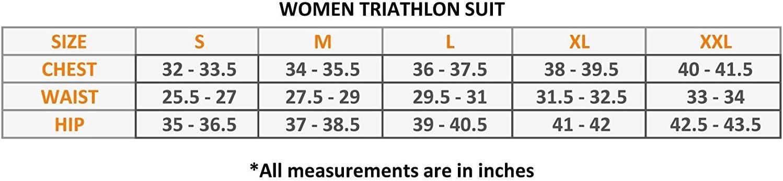 Select Tuta da Triathlon da Donna Imbottita per Ciclismo e Corsa